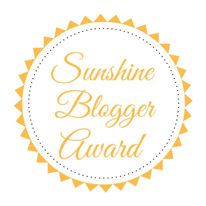 Sunshine Blogger Award #1